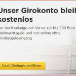 Vorteilskonto kostenloses Girokonto der Commerzbank – Teil 1